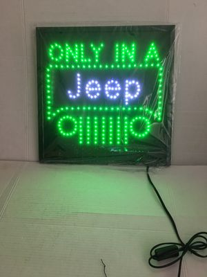 Jeep led sign Jeep light Jeep sing Jeep Hat Jeep t-shirt Jeep parts Jeep head light for Sale in La Habra, CA
