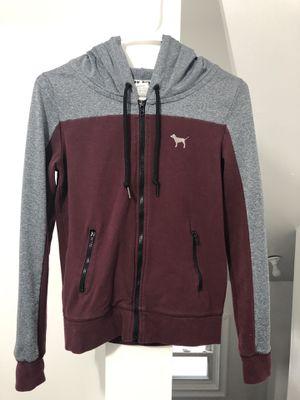 Pink zip up hoodie for Sale in Dearborn, MI