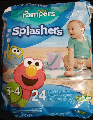 PAMPERS SPLASHERS SIZE 3-4. BRAND NEW. for Sale in East Brunswick, NJ