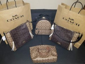 Coach bags all 100% authentic $250ea for Sale in Aurora, CO