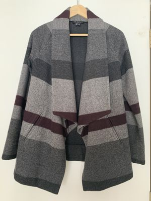 Theory Wool Short Coat Size S/P for Sale in Parma, OH