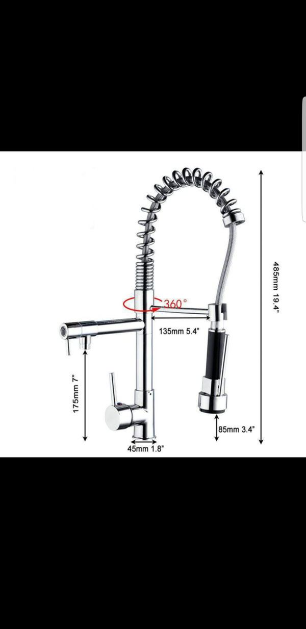 New Modern Kitchen Sink Pull Out Spray Faucet