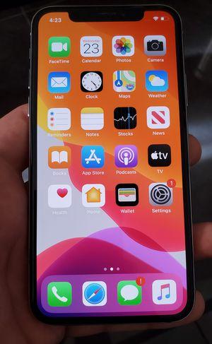 New iPhone X 64GB Unlocked T-Mobile Metro PCS Sprint ATT Cricket Boost Verizon Spectrum Simple Mint Internationally More for Sale in Los Angeles, CA