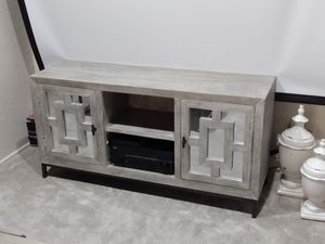 BEAUTIFUL GREY WASH WOOD ENTERTAINMENT for Sale in Glendale, AZ