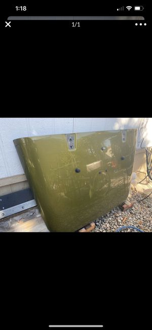 Jeep Wrangler hood for Sale in Moreno Valley, CA