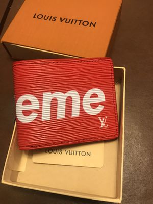 Lv supreme men wallet for Sale in West Bloomfield Township, MI