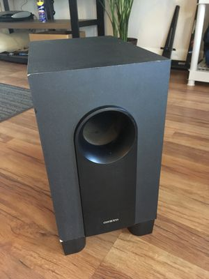 Onkyo subwoofer for Sale in Goleta, CA