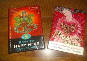 Happiness or Healing Oracle cards New for Sale in Parma, OH