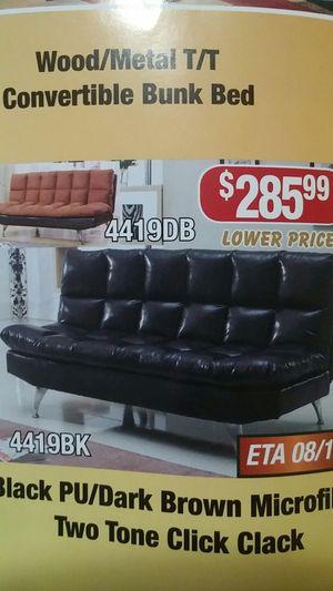 Black futon for Sale in Baltimore, MD