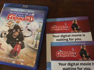 "Digital Copy of ""Ferdinand"". I can ONLY accept Zelle or cash for Sale in Abilene, TX"