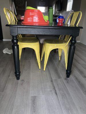 Black kitchen table for Sale in Mesa, AZ