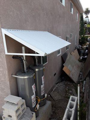 Proteja sus boiler de las lluvias y del la tierra. Hacemos techitos. 3x40.3x30.3x20.3x10. for Sale in South Gate, CA