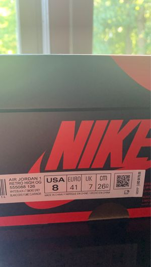 Air Jordan 1 High Retro OG 'Smoke Grey' for Sale in Dumfries, VA
