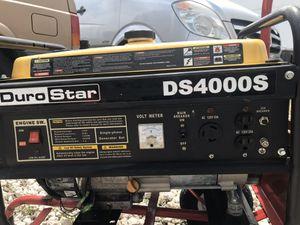 Generator DURO STAR DE4000S USED! for Sale in Miami, FL