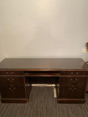 Solid Oak Office Desk for Sale in Houston, TX