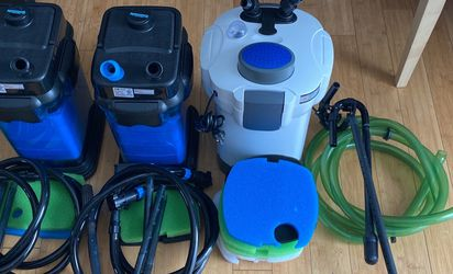 3 Units Of Canister Filter For 150 Gal Aquarium for Sale in Frederick,  MD