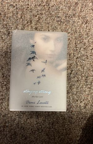 Demi Lovato's Book: Staying Strong for Sale in Arroyo Grande, CA