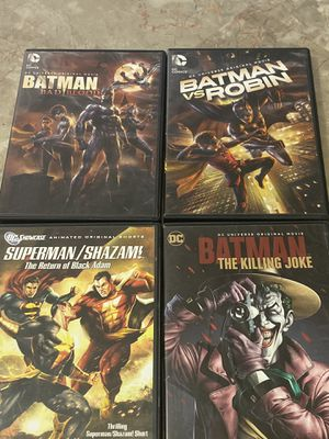 DC Movies (Animated & Live Action) $5 each. for Sale in Apache Junction, AZ