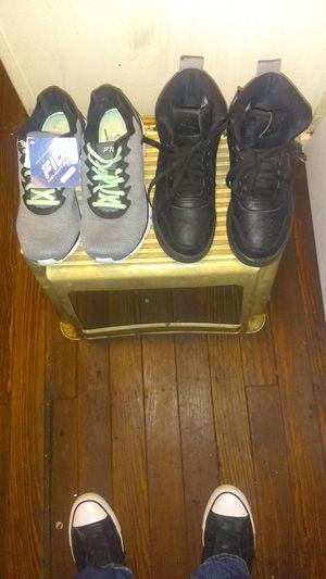 Fila's and Jordans for Sale in Lynchburg, VA