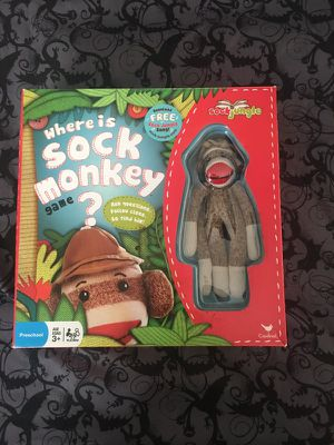 Sock monkey board game , rating 4/5 for Sale in Germantown, MD