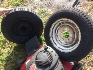 """Trailer tires 12"""" Both $40 for Sale in Plantation, FL"""