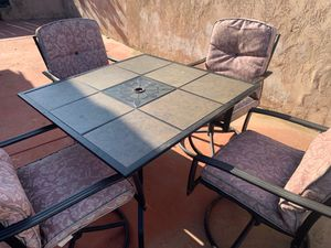 Dining Set outdoor. for Sale in Bostonia, CA