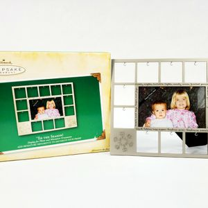 Hallmark Keepsake Ornament - 'Tis The Season! - Photo Frame and Miniature Ornament Display - New for Sale in Trenton, NJ