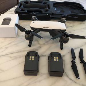DJI Spark, Portable Mini Drone / Extras Accessories Included . for Sale in Punta Gorda, FL