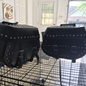 FirstClassics Saddle Bags For Motor Bike for Sale in Houston, TX