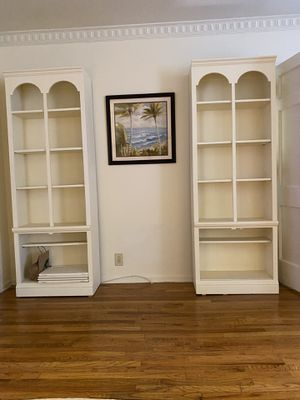 Free Bookcases. Have all hardware and doors for bottom shelves. MarVista location. for Sale in Los Angeles, CA