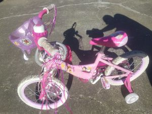 Princess kid bike for Sale in Tracy, CA