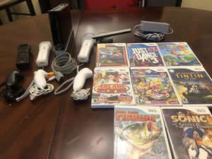 Nintendo Wii with 8 Games for Sale in Fort Lauderdale, FL