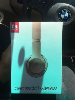 Beats Solo 3 Wireless for Sale in Durham, NC