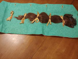 Natural 3 pc. Hair Extention High End for Sale in New Gloucester, ME