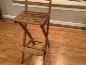 Teak Director Chair for Sale in Gig Harbor,  WA