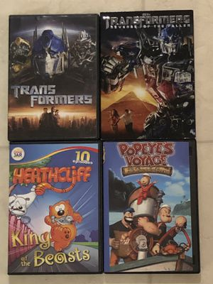 4 DVDs for Sale in Smyrna, TN