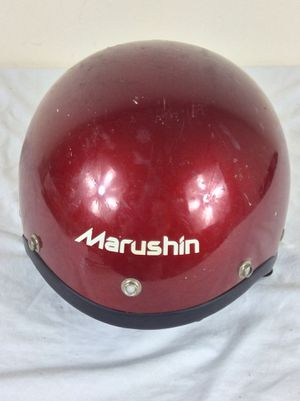 Vintage 1989 Marushin MZ-H Open Face Motorcycle Helmet Size Small-Medium for Sale in Severn, MD