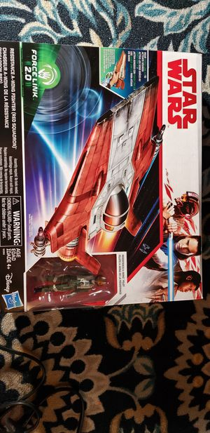 New Star Wars A-Wing Fighter with A-Wing Pilot for Sale in Orlando, FL