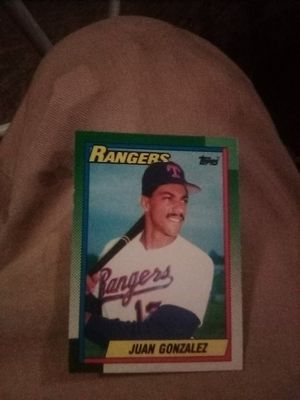 Juan Gonzalez baseball card for Sale in West Covina, CA