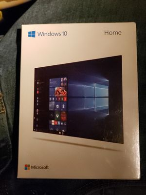 MICROSOFT WINDOWS 10 HOME LICENSE for Sale in Pueblo, CO