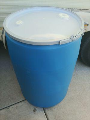 55 Gallon Removable top food grade barrels for Sale in Las Vegas, NV