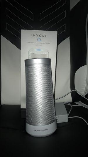 Harman Kardon Invoke Bluetooth Speaker With Cortana for Sale in Mount Sterling, KY