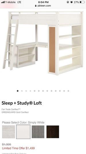 Sleep and study loft for Sale in San Jose, US