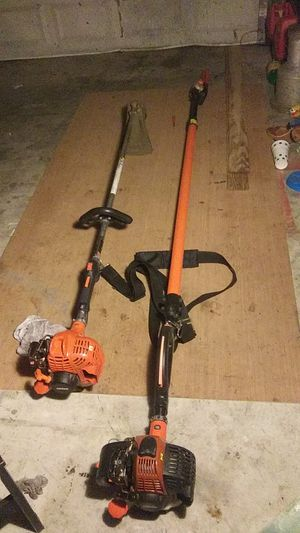 $400$ obo (Echo pole chainsaw weedeater PPT 265 and Echo weed eater srm-225 I). $400 OBO for Sale in Houston, TX