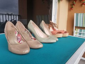 HEELS AND BOOTS SIZE 7/8 for Sale in West Palm Beach, FL