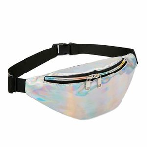 Silver metallic fanny pack for Sale in St. Louis, MO