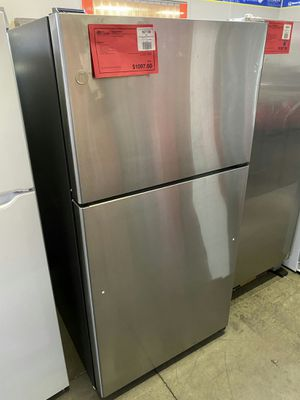 New GE 22 CuFt Top Freezer Refrigerator Fridge..1 Year Manufacturer Warranty Included for Sale in Chandler, AZ