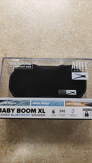NEW Altec Lansing Baby Boom XL Bluetooth Speaker for Sale in Newington, CT