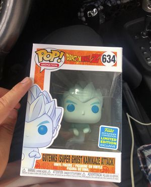 DBz Gotenks Super Ghost Kamikaze Summer Convention Exclusive Funko Pop for Sale in Los Angeles, CA