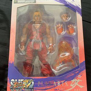 Play Arts Kai Street Fighter Ken for Sale in Lynwood, CA